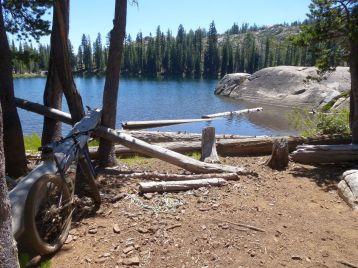 Lower Montez Lake lunch stop