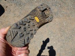 Good rear Vibram sole tread