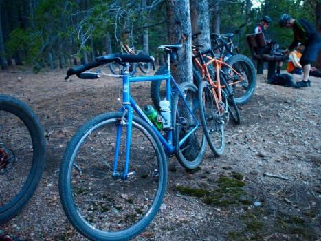 Powers' bike. Photo by Joe of Soulrun.