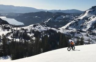 Donner Pass crust riding