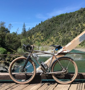 New Titanium allrounder on the Ponderosa Bridge