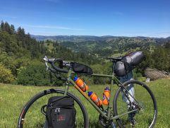 Tim's bike touring