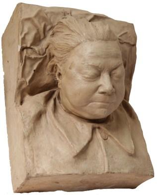 Надежда Крупская, посмертная маска