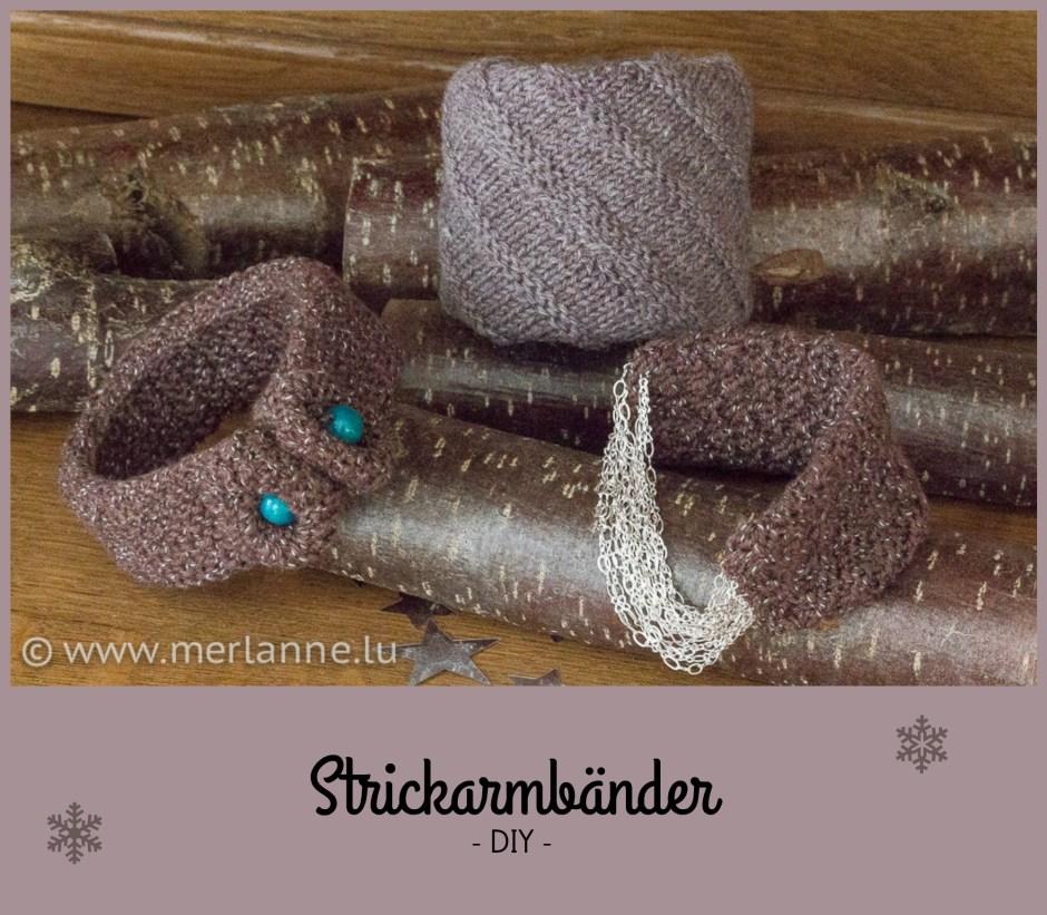 Strickarmband