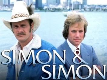 """SIMON & SIMON -- Sleuth Series -- Pictured: (l-r) Gerald McRaney as Rick Simon, Jameson Parker as Andrew Jackson """"A.J."""" Simon -- Sleuth Photo"""