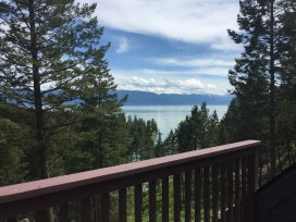 Flathead Lake from the Deck