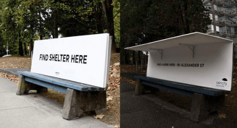 Shelter Bench