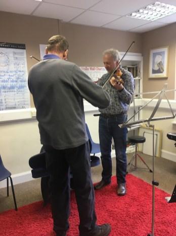Iain Fraser teaching