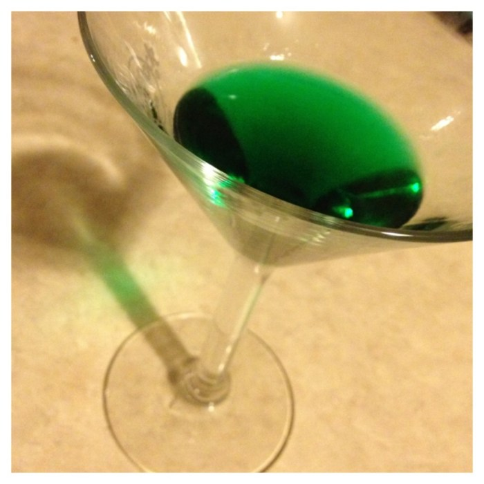 grasshopper martini