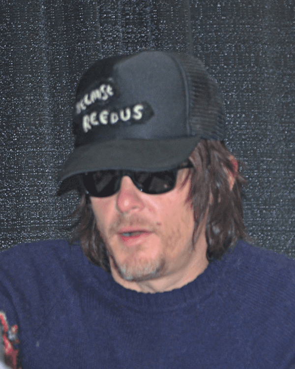 Norman Reedus Wizard World Comic Con