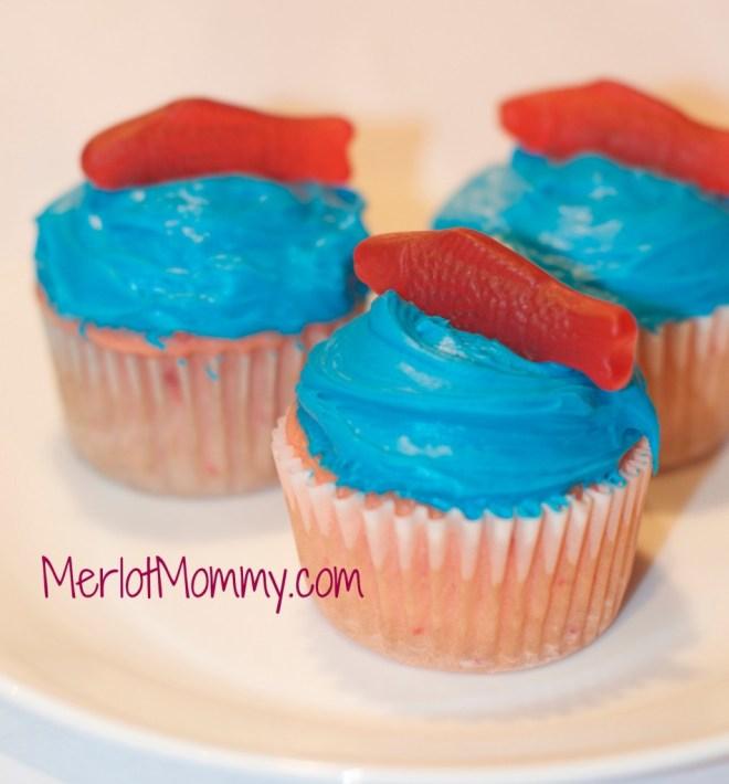 dr. seuss cupcake