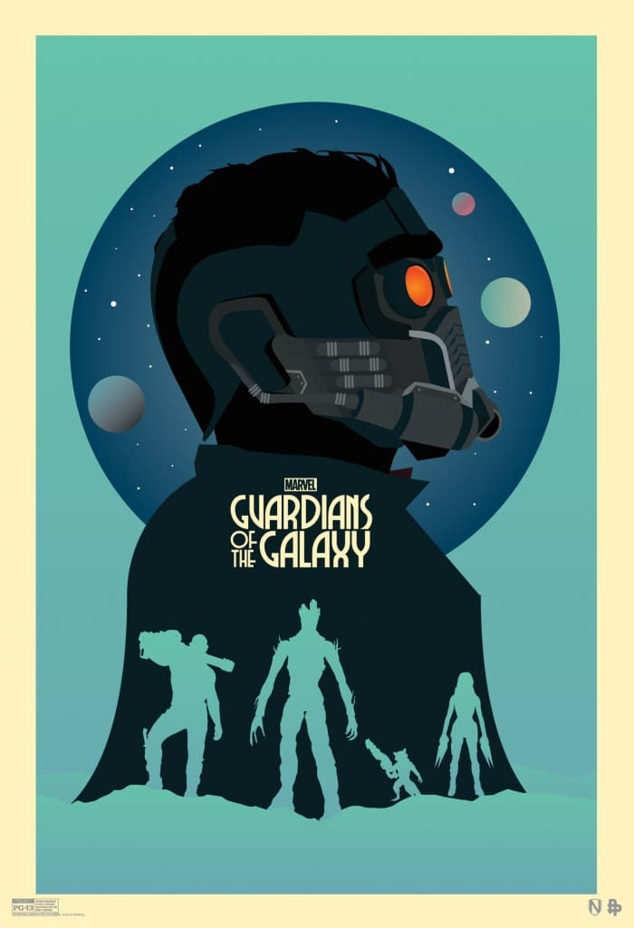 Guardians of the Galaxy Comic Con poster