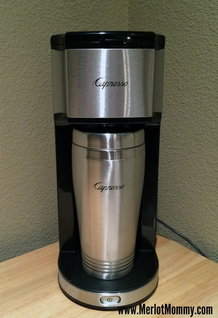 Coffee Maker Under 11 Inches Tall : Capresso Personal Coffee Brewer and Bean Grinder {Review} and #Giveaway ends 11/26 Merlot Mommy
