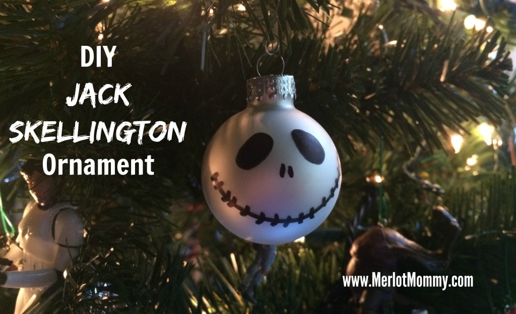 Jack Skellington DIY Ornament