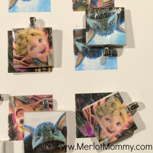 Strange Magic DIY Tile Necklace Pendants