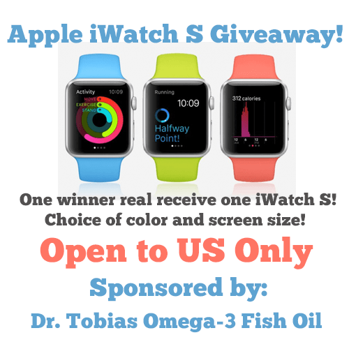 Enter to win an iWatch #Giveaway ends 4/6