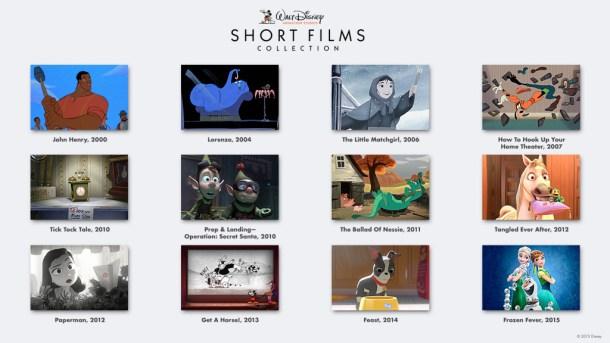Walt Disney Animation Studios Shorts Collection on Blu-Ray 8/18