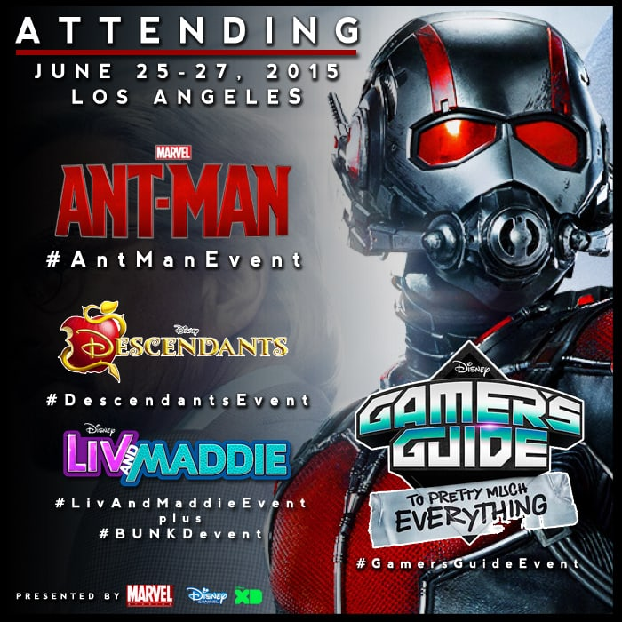 I'm Headed Back to to Los Angeles for the Marvel #AntManEvent