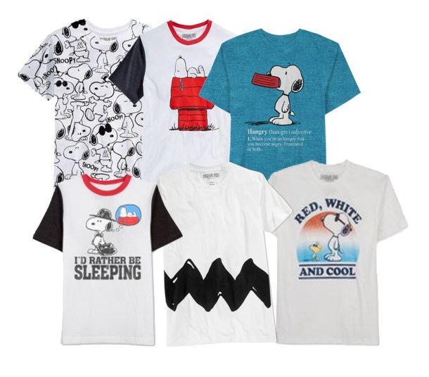 Enter to Win a Snoopy Men's Tee: 3 Winners! #Giveaway ends 7/18 #Snoopy #PeanutsMovie