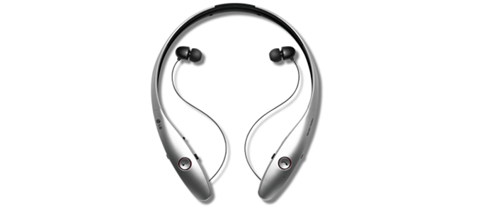Get in the Back-to-School Groove with LG Tone Infinim Silver Bluetooth Headset from AT&T