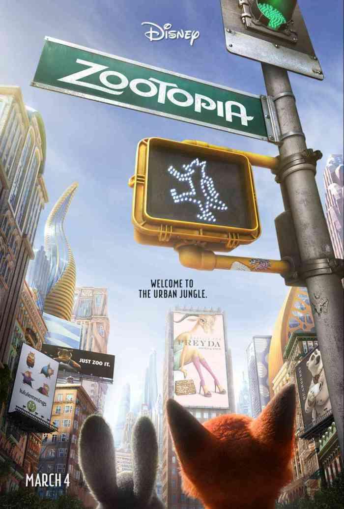 Disney's ZOOTOPIA New Poster #Zootopia