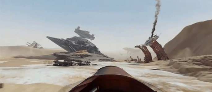 STAR WARS: THE FORCE AWAKENS New Facebook 360 Experience #StarWars #TheForceAwakens