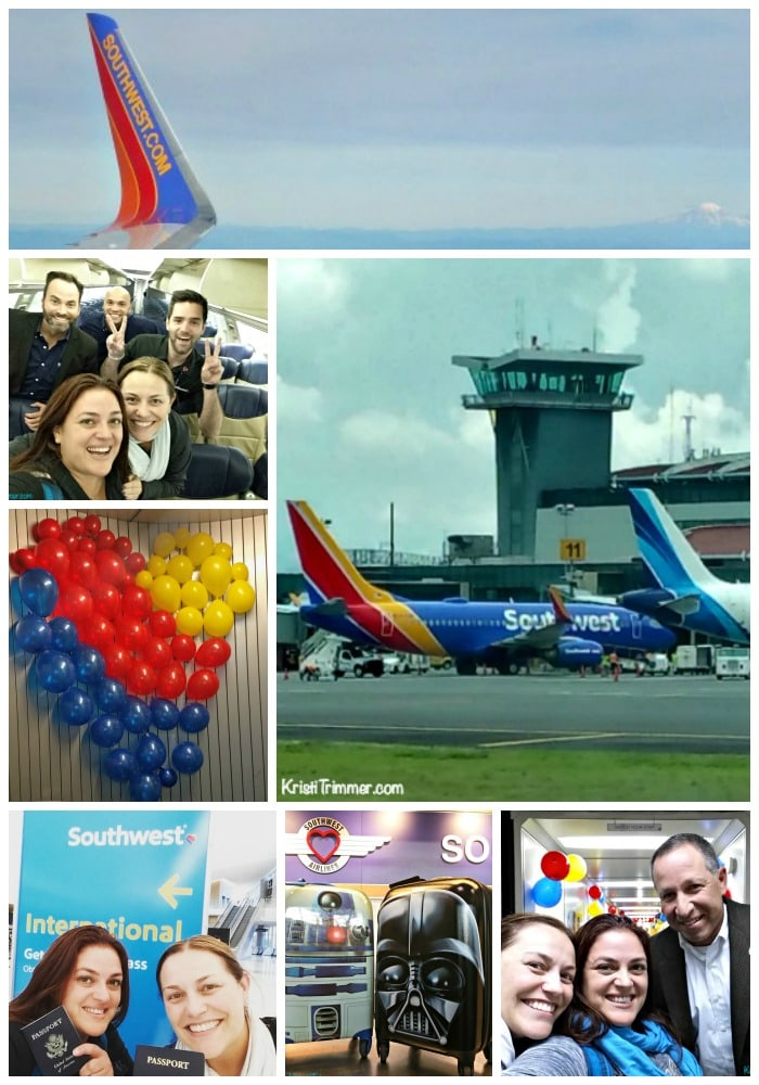 Celebrating Southwest's Inaugural Flight to Costa Rica