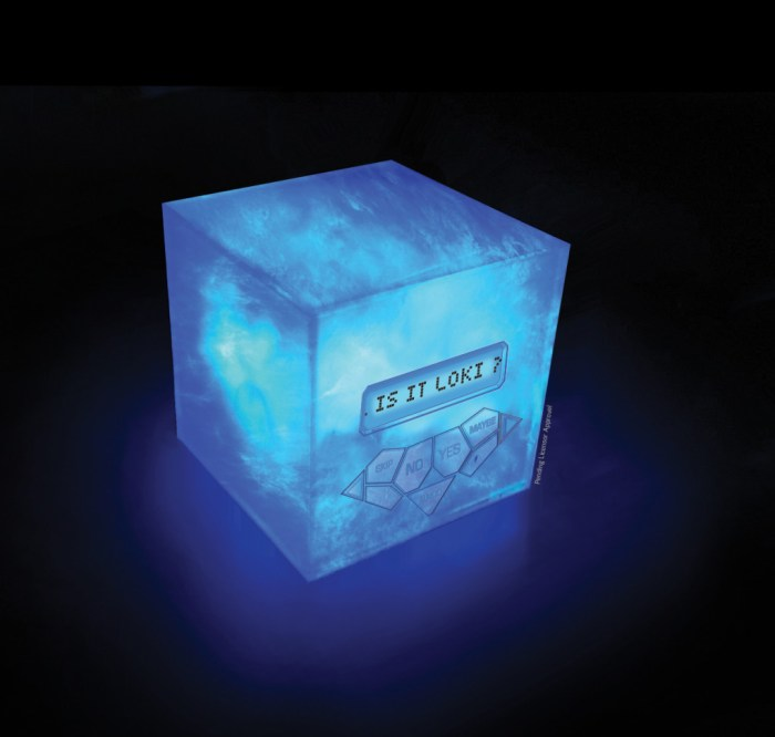 NEW Marvel Avengers Tesseract 20Q Toy from Uncle Milton