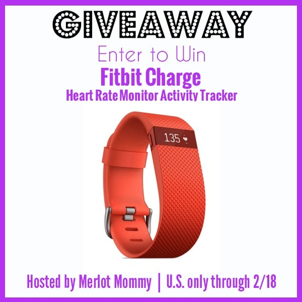 Giveaway: Fitbit Charge Heart Rate Monitor Activity Tracker