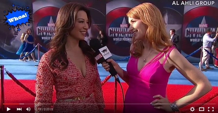 We attended the Captain America Civil War World Premiere Red Carpet Event