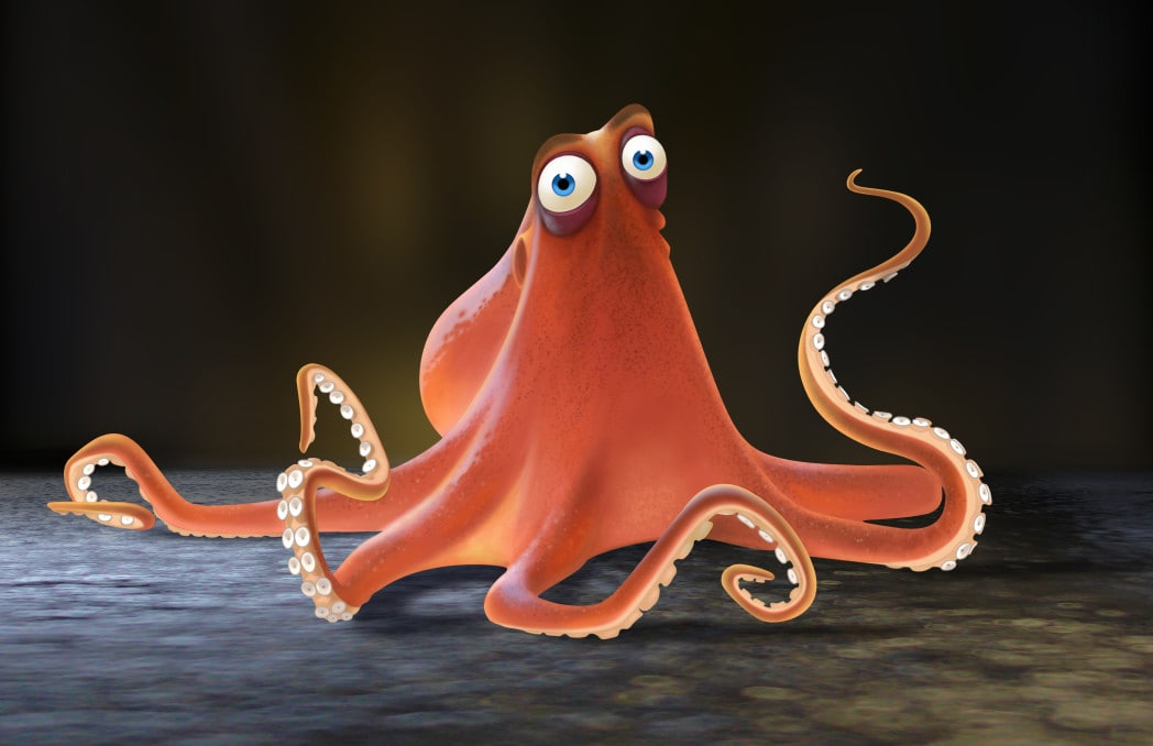 Meet Hank from Finding Dory