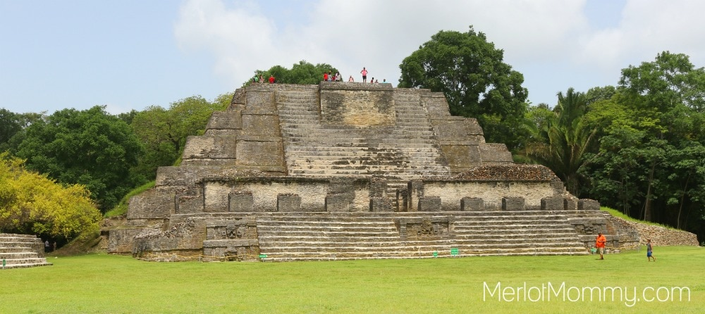 Altun Ha Mayan Site in Belize