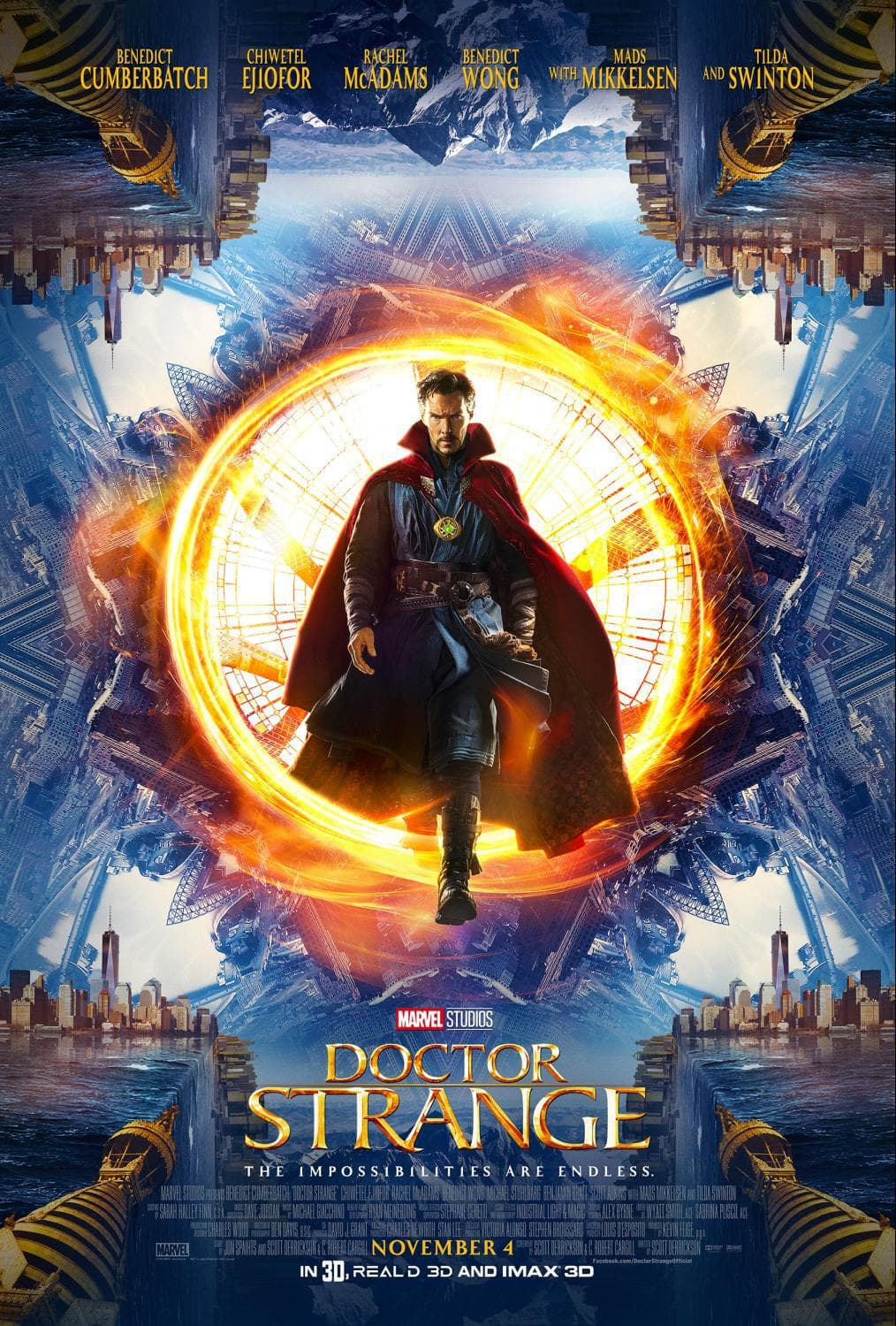 Marvel's Doctor Strange New Trailer and Poster Available