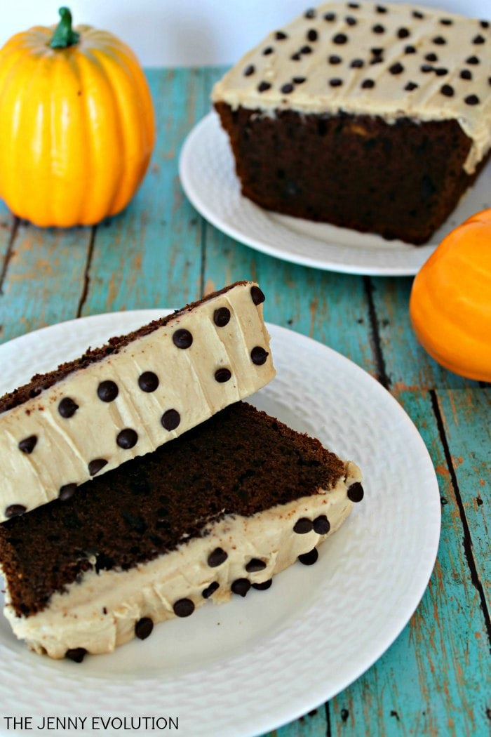 http://www.thejennyevolution.com/caramel-chocolate-pumpkin-bread-recipe/