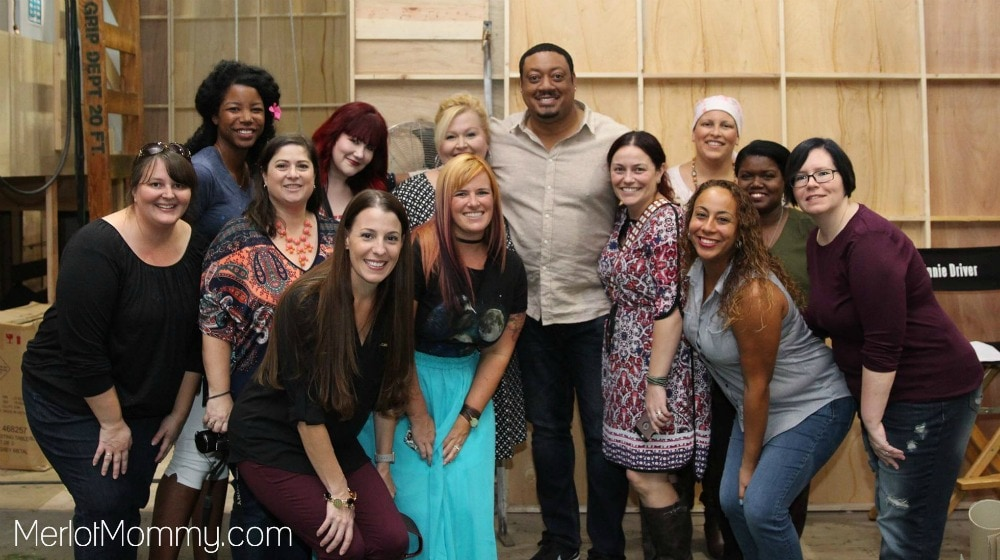Speechless Set Visit - Cedric Yarbrough