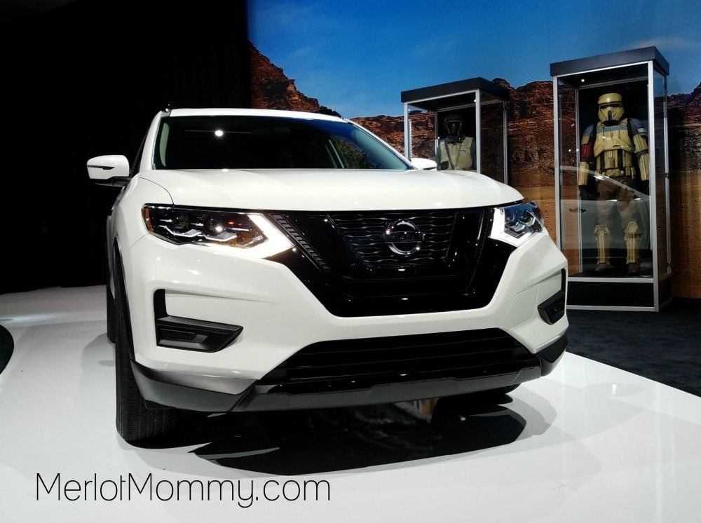 Sexy and Sustainable Cars with Steel are Key at LA Auto Show - Nissan Rogue One Star Wars