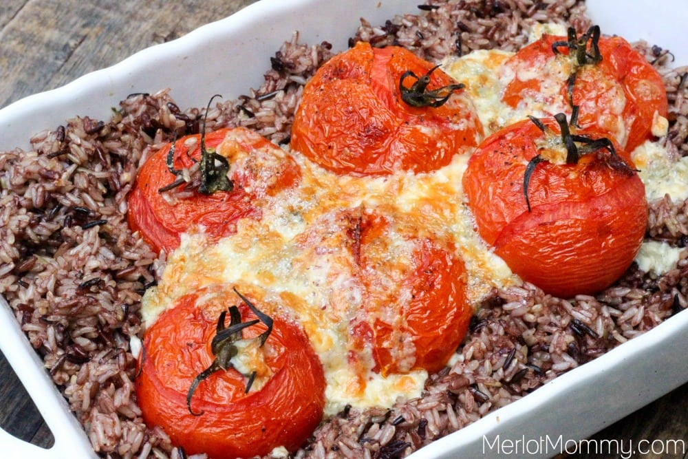 Wild Rice and Roasted Tomatoes Instant Pot Recipe