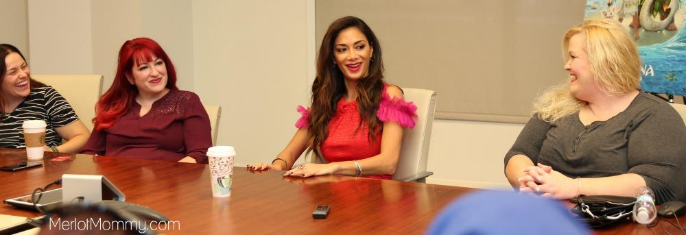 Exclusive Interview with Nicole Scherzinger on Moana