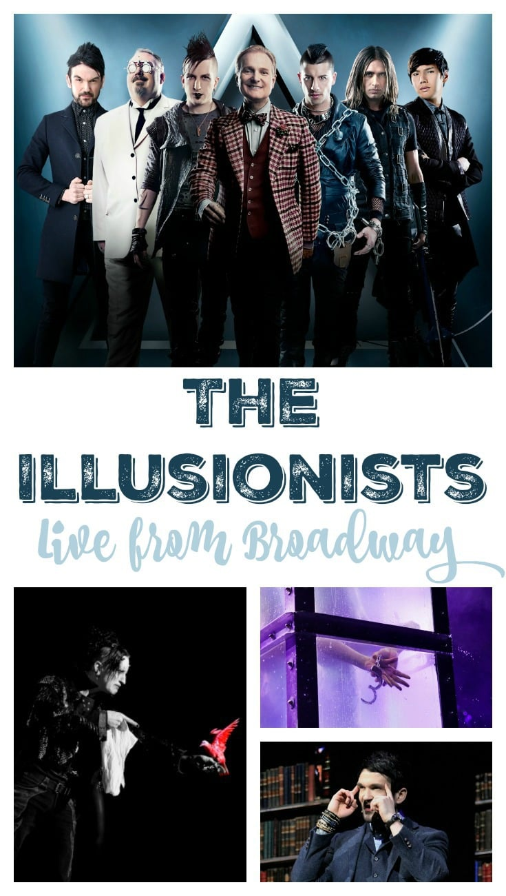 The Illusionists Will Dazzle and Mesmerize Collage