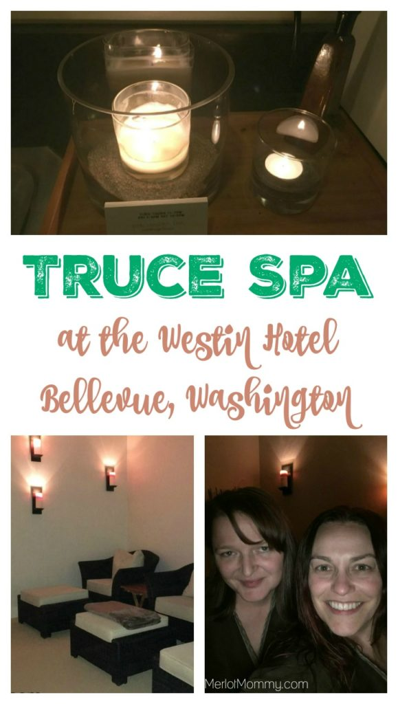 Truce Spa at The Westin Bellevue Pin