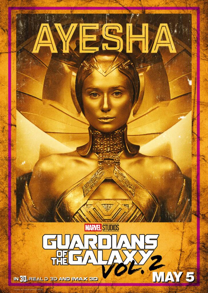 Guardians of the Galaxy Elizabeth Debicki as Ayesha