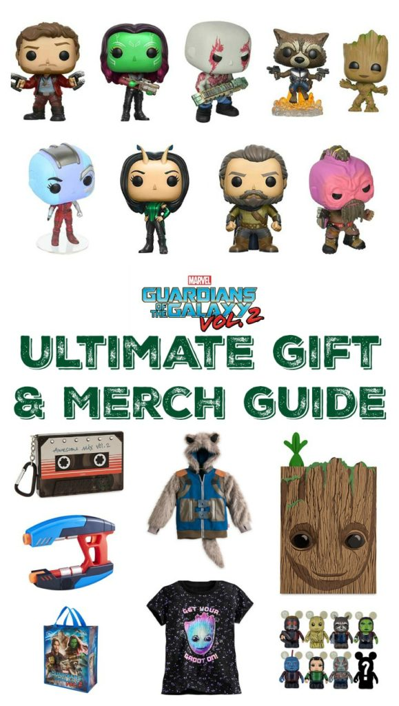 Ultimate Guide to Guardians of the Galaxy Vol. 2 Gifts and Merchandise Collage