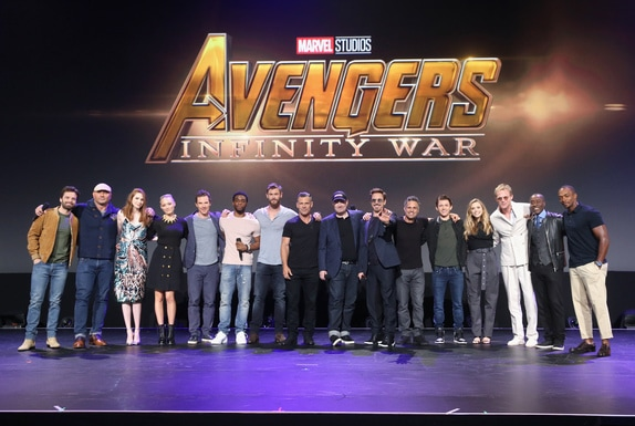 Upcoming Disney, Marvel Studios, and LucasFilm Live-Action Films - D23 Expo Recap -Avengers Infinity War