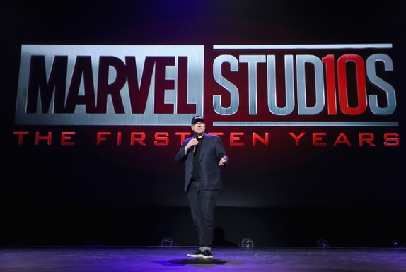 Upcoming Disney, Marvel Studios, and LucasFilm Live-Action Films - D23 Expo Recap - Marvel STudios 10 Year Logo