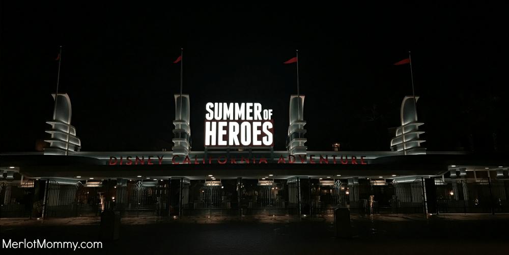 Experience Summer of Heroes - Disney California Adventure