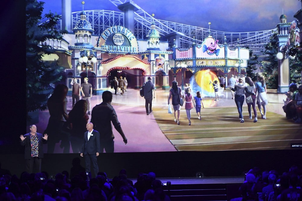 The Future of Walt Disney Parks and Resorts - D23 Expo Recap Pixar Pier