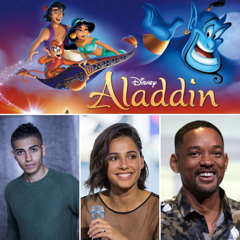Upcoming Disney, Marvel Studios, and LucasFilm Live-Action Films - D23 Expo Recap - Aladdin