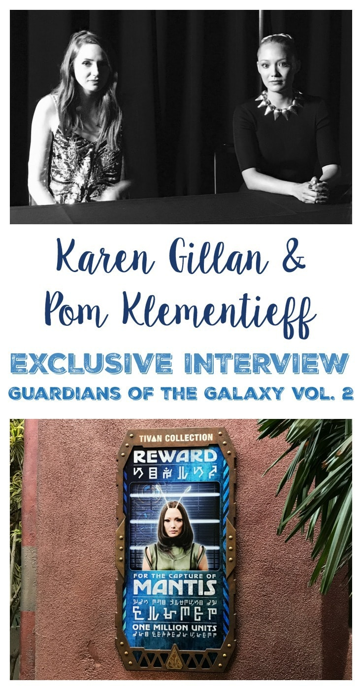 Exclusive Interview with Karen Gillan and Pom Klementieff – Guardians of the Galaxy Vol 2 Blu-Ray/DVD