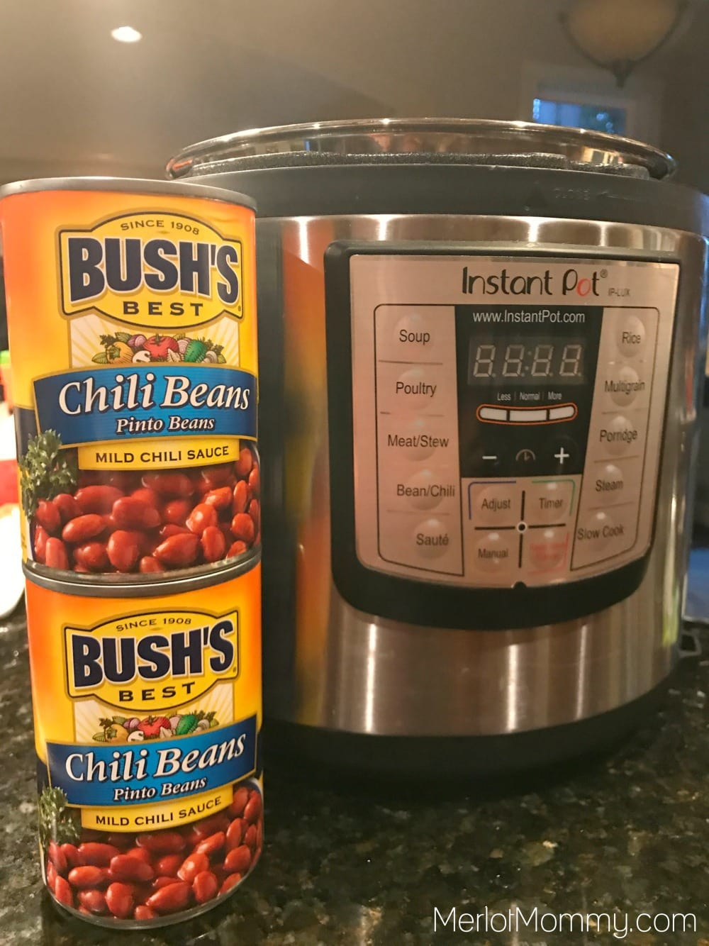 30-Minute Pressure Cooker Chili