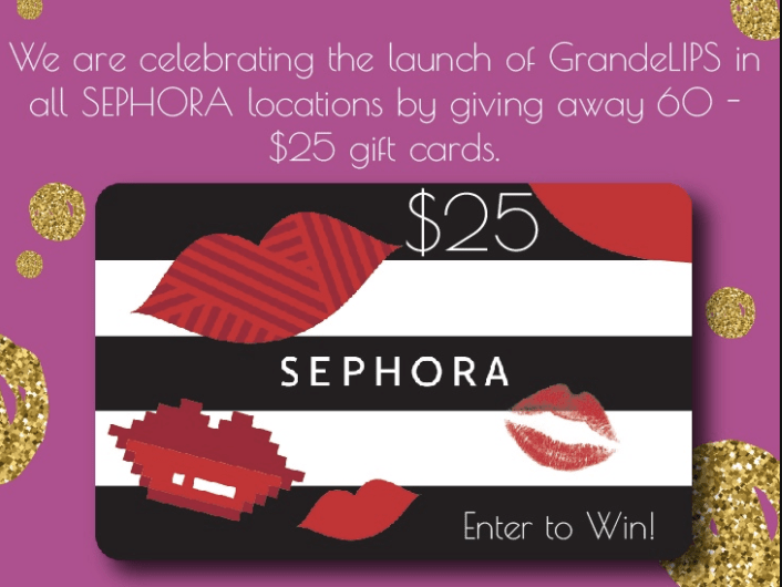 GrandeLIPS Hydrating Lip Plumper Now at Sephora + $25 Gift Card Giveaway